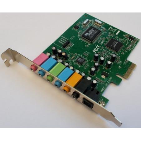 Envy24DT PCIe audio card